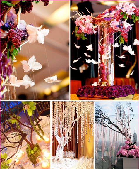 butterflies centerpiece ideas