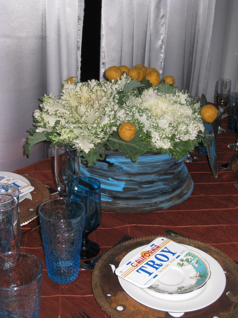 Tablescape Utterly Engaged Party