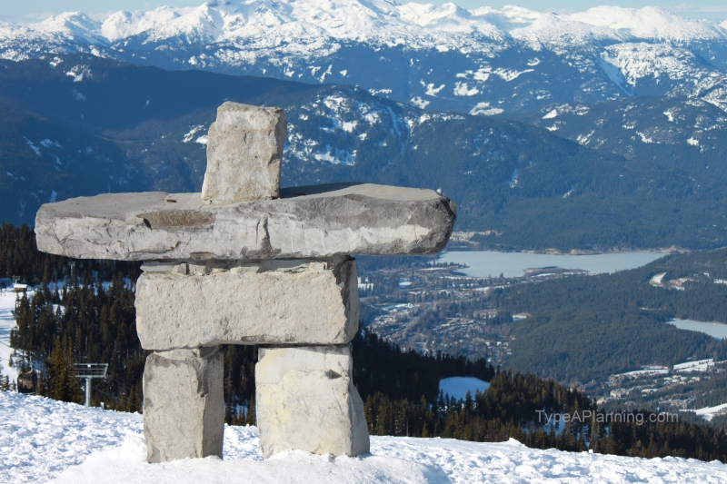 Whistler Mountain Top