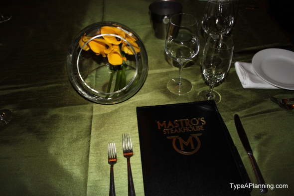 Mastro's Steakhouse Menu